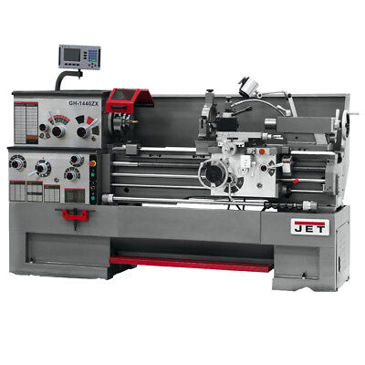 JET GH-1440ZX  Large Spindle Bore Lathe w/ ACU-RITE 300S DRO & Taper Attachment