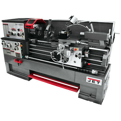 JET GH-1640ZX Large Spindle Bore Lathe With Taper Attachment