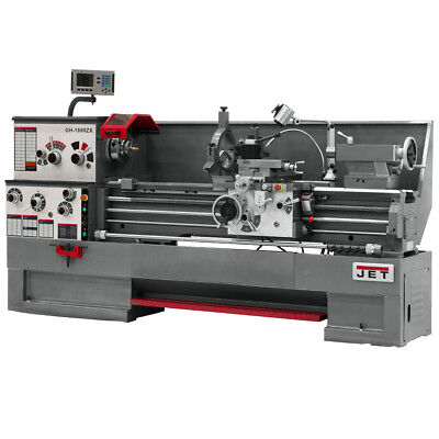 JET GH-1880ZX Large Spindle Bore Lathe With Newall DP700 DRO