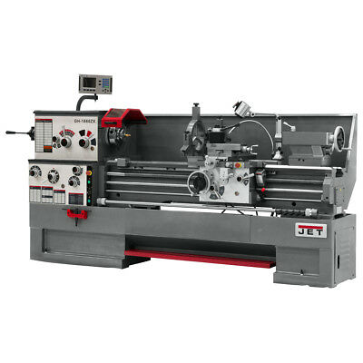 JET GH-1860ZX Large Spindle Bore Lathe With ACU-RITE 300S DRO & Collet Closer