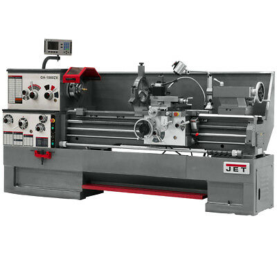 JET GH-1880ZX Large Spindle Bore Lathe With ACU-RITE 300S DRO & Taper Attachment
