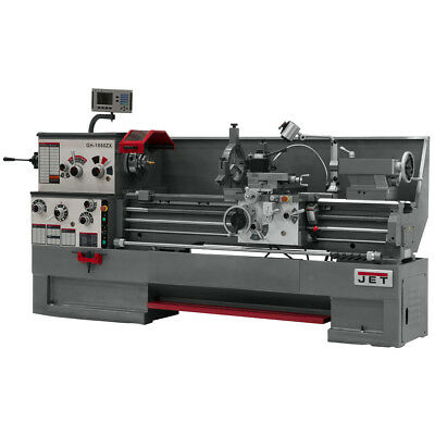 JET GH-1660ZX Large Spindle Bore Lathe With ACU-RITE VUE DRO With Collet Closer