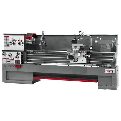 JET GH-1880ZX 3-1/8 Spindle Bore Geared Head Lathe