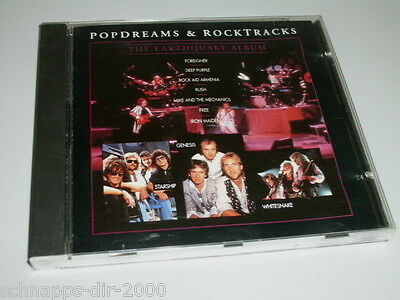 Pop Dreams & Rocktracks Cd Mit Iron Maiden Deep Purple Yes Black Sabbath Rush ..