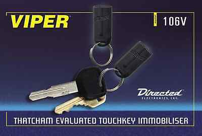 Viper 106V Thatcham Approved Category 2 Touch Key Immobiliser