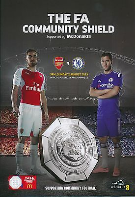 FA COMMUNITY SHIELD 2015 Chelsea v Arsenal