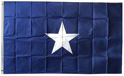 3x5 Ft Bonnie Blue Flag Rebel Civil War Historic US Flag POLYESTER bb