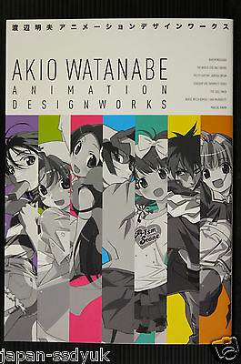 JAPAN Akio Watanabe Art book Animation Design Works(World God Only Know)