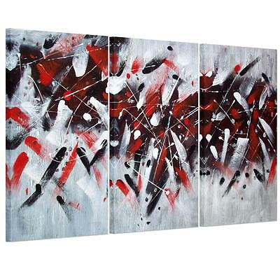 Large Abstract Graffiti Unframed HD Canvas Print Wall Art Picture Split Poster