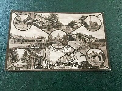 old Postcard Views Of Mansfield