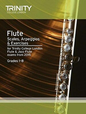 Trinity College Flute Scales & Exercises from 2015 - Same Day P+P