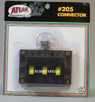 atlas ho connector switch power to track section accessories wiring atl205  new