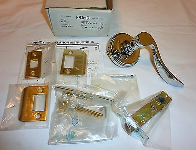 "Primo 940 26/US3 Privacy Handle & Latch 2-3/8"" LH POLISHED CHROME BRASS NEW!"