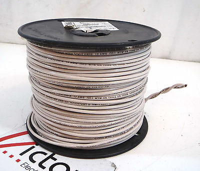 New Stranded Copper Wire, 12GA, THHN, 500 FT (Cable, White)