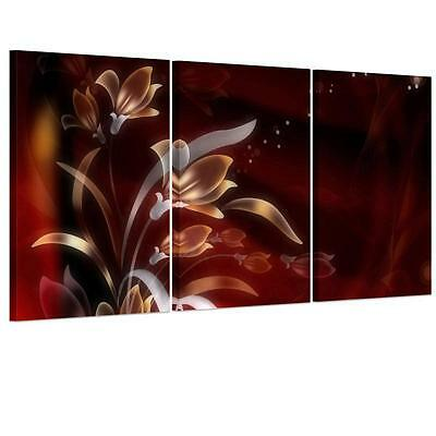 Large Nice Flower Grass Unframed HD Canvas Print Wall Art Picture Split Poster