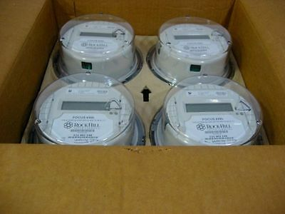 Lot of 4 Landis + Gyr ALF 2S Electric Smart Meter CL200 3W 240V 7.2Kh 60hz NIB