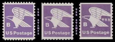 B Rate (18) USPS Eagle 1818-20 1819 1820 Rate Change 1981 Set of 3 MNH - Buy Now