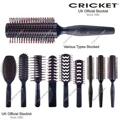 Cricket Different Hair Brush Models Styling, Shaping, Brushing. Non Static Brush