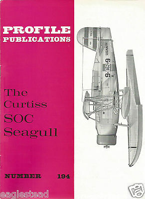 Aircraft Monograph - Curtiss - SOC Seagull - Profile Facts Summary (MN63)