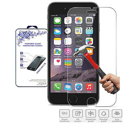 For Apple iphone 6 Plus / 6s Plus Premium  HD Tempered Glass Screen Protector