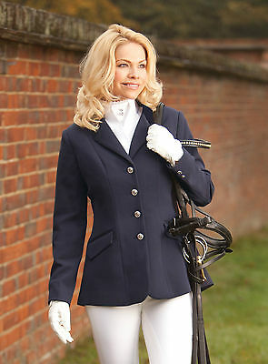 Equetech Medley In-Vent Competition Jacket NAVY 34 UK10 **SALE WERE £93.95**