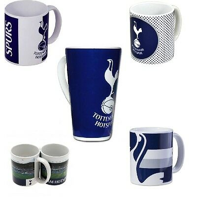 Official Football Club - TOTTENHAM MUGS Ceramic -SPURS-(Gift, Xmas, Present)