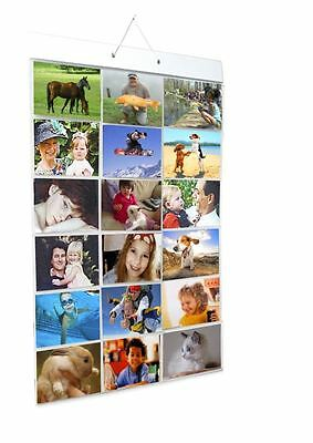 Picture Pockets For 6x4 Landscape Photos For Wall Or Door Hanging Photo Frame