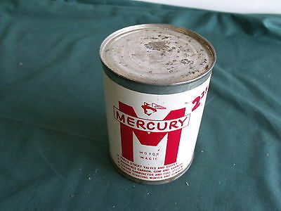 1956 1957 1960 Mercury Metal Oil Can Sign