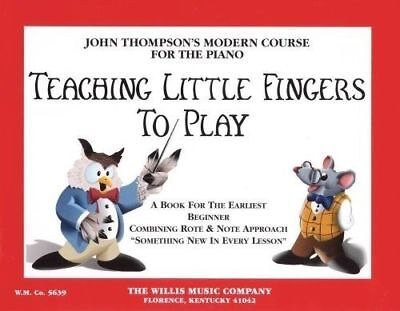 Teaching Little Fingers To Play Book *NEW* Tuition John Thompson Early Beginner