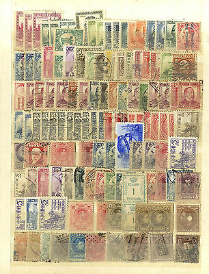 Lot 122 Timbres Espagne Europe