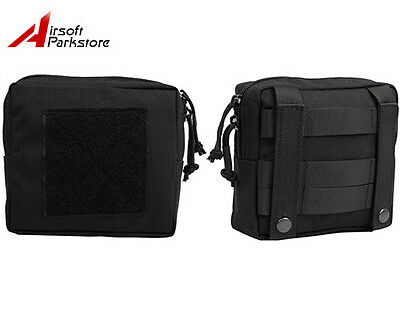 1000D Molle Tactical Military Utility Magazine Drop Pouch First Aid Bag Black