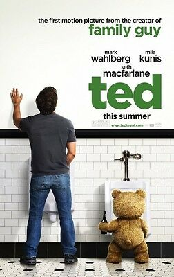 Ted - original DS movie poster - 27x40 D/S - 2012 Advance