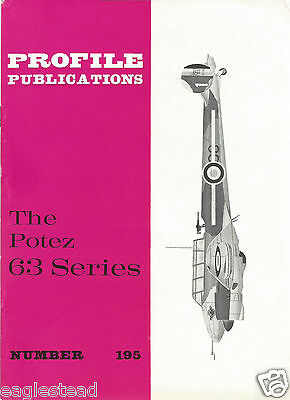 Aircraft Monograph - Potez - 63 series - Profile Facts Summary (MN125)