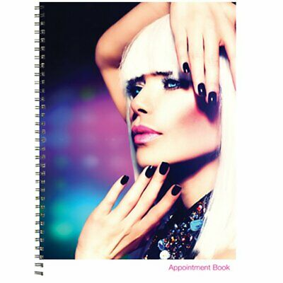 BURMAX Salon Beauty Hair DL Pro 4 Column Appointment Book - BK-DLC203