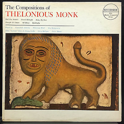 Thelonious Monk The Compositions Of LP VG+ Riverside RLP 3503 Mono 1962