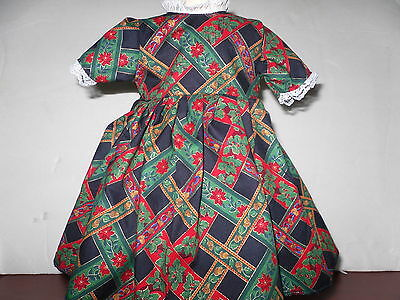 """Doll Clothes American Fashion  Dress #19  fits 18"""" Girl Doll"""