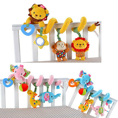 Cute baby toy educational newborn mobile rattles baby stroller hanging plush toy