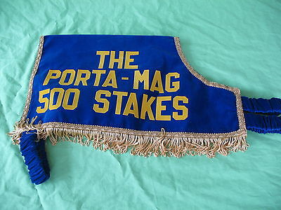 Rare Swaffham Stadium 1991 The Porta Mag 500 stakes Greyhound winners Jacket