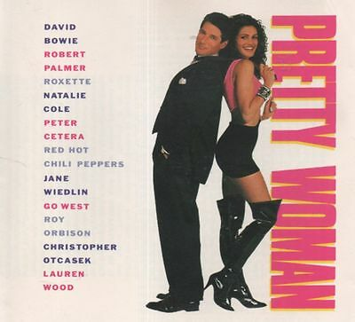 PRETTY WOMAN Classic 90's Soundtrack CD Roy Orbison BOWIE ROXETTE Red Hot Chili