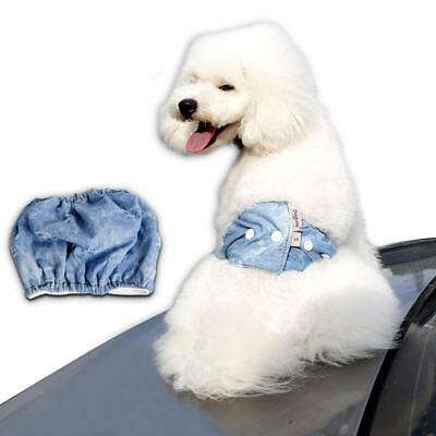 Cowboy Male Dog Diaper Belly Band Wrap Belt Sanitary Underwear Reusable S M L