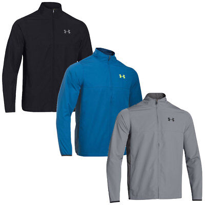 Under Armour 2016 Mens UA Vital Warm Up Jacket Sports Full Zip Training Top