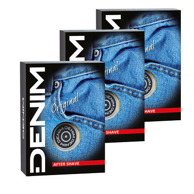 DENIM ORIGINAL After Shave 3x 100ml aftershave