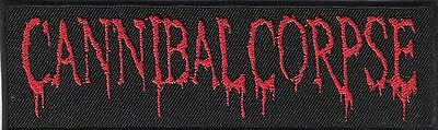 patch embroidered / écusson thermocollant Cannibal Corpse