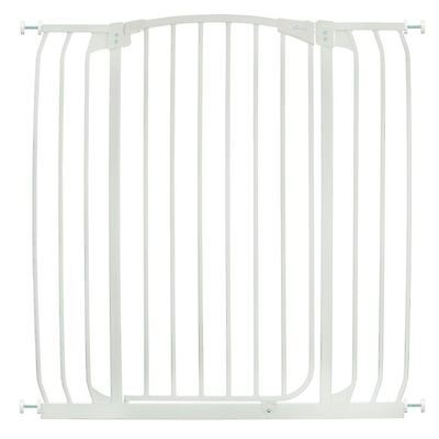 Dreambaby Extra Tall Pressure Fitted Stair Gate (Baby Stair Gate in White)