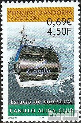 Andorra-French Post 562 mint never hinged mnh 2001 Bergstation