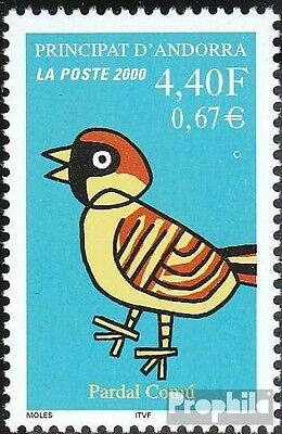 Andorra-French Post 554 mint never hinged mnh 2000 Sperling