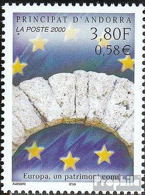 Andorra-French Post 558 mint never hinged mnh 2000 Heritage
