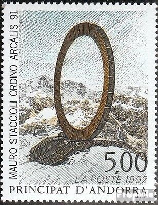 Andorra-French Post 444 mint never hinged mnh 1992 Art