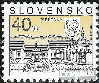 Slovakia 395 mint never hinged mnh 2001 Postage stamp: Cities