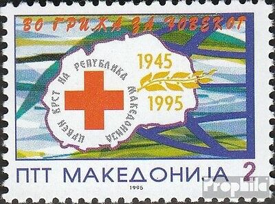 Macedonia 42 mint never hinged mnh 1995 Red Cross